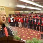 Kukuhkan GARBI Gorontalo, Fahri Hamzah: Ini Zaman Akal Sehat, Jangan Takut Berbicara