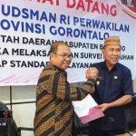 Ombudsman: 3 Dinas di Boalemo Terendah Pelayanan Publik