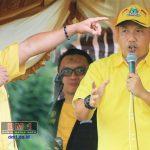 Di Tanah Putih, Rusli Habibie Optimis Ketua DPRD Boalemo Masih Dipegang Golkar