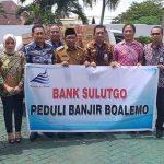 FKP Bank Sulutgo Beri Bantuan untuk Korban Banjir Boalemo