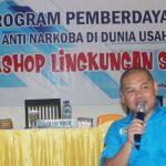 Penggiat Anti Narkoba Boalemo Ikuti Workshop Lingkungan Swasta