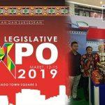 Pertama Kali Ikut Legislative Sulutgo Expo, Ini Harapan Ketua DPRD Kabgor Sahmid Hemu