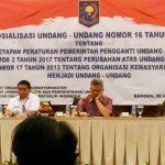 Kesbangpol Prov. Gorontalo Hadiri Sosialisasi UU Ormas. Salah Satu Kesimpulannya: Ormas Bermasalah akan Ditindaki
