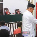 Hakim Sebut Terdakwa Bupati Darwis tak Hadiri Sidang Kedua Tanpa Alasan Sah