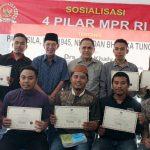 Bersama Mahasiswa Boliyohuto-Bilato, Anggota MPR-RI AD. Khaly Gelar Sosialisasi 4 Pilar Kebangsaan