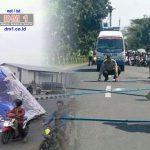 Tertimpa Baliho Jokowi-Ma'ruf, Pengendara Motor ini Tewas