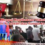 Ancaman Pidana Pemilu dan Contempt of Court Darwis Moridu