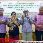 Kesbang-Pol dan FKUB Provinsi Gorontalo Bermunajat Sukses Pemilu
