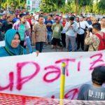 "Demo: APR Desak Bupati ""Zolim"" Boalemo Segera Diadili"