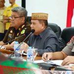 Via Tele-conference, Wagub Idris Rahim Laporkan Situasi Pemilu ke Kemendagri