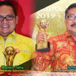 Walikota Marten Taha dan PDAM Kota Gorontalo Raih Penghargaan TOP BUMD 2019