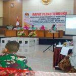 Rapat Pleno Rekapitulasi, Adnan Berahim: Ini Hanya Rekap Hasil, Bukan Alokasi Kursi