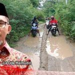 Jalan Desa Olibu-Apitalawu Dikeluhkan, La Ode Haimudin: Juli akan Dikerjakan