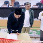 Seluruh Fraksi di DPRD Bonebol Setuju APBD-Perubahan 2019 Diperdakan