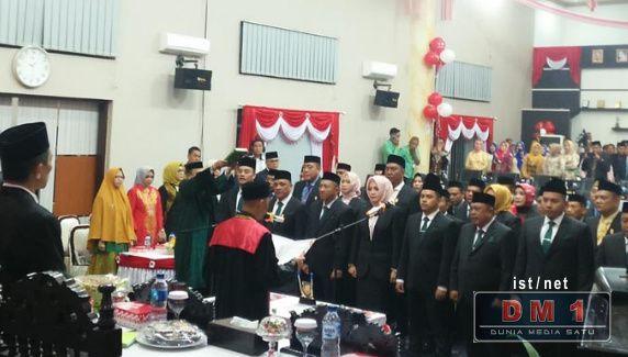 35 Anggota DPRD Kabupaten Gorontalo Resmi Dilantik