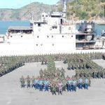 Lepas Jangkar, 450 Prajurit Yonif/ST 713 Bertolak Ke Perbatasan Papua