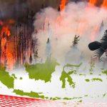 Kebakaran Hutan, Kualitas Udara di 9 Kota di Level Berbahaya