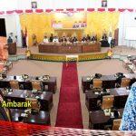 DPRD Bolmut Gelar Rapat Paripurna Istimewa LKPJ Bupati 2018