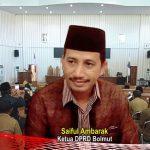Paripurna LKPJ Bupati Bolmut 2018, Saiful: Ini Bagian dari Fungsi Pengawasan