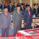 Pimpinan Definitif DPRD Boalemo Dilantik, Eka Ajak Menjaga Amanah Rakyat