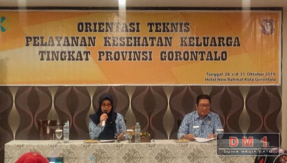 Angka Kematian Ibu dan Bayi Menurun, Pelayanan Kesehatan Keluarga Prioritas Dikesprov Gorontalo