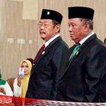 Tiga Pimpinan Definitif DPRD Bolmut Periode 2019-2024 Dilantik