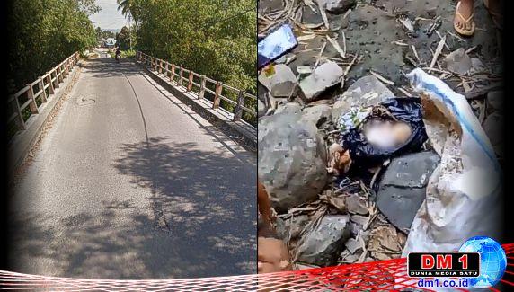 Heboh! Warga Temukan Jasad Bayi di Sungai Bone