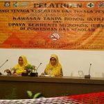 """Dikes Provinsi Gorontalo Gelar Pelatihan """"Kawasan Tanpa Rokok"""""""