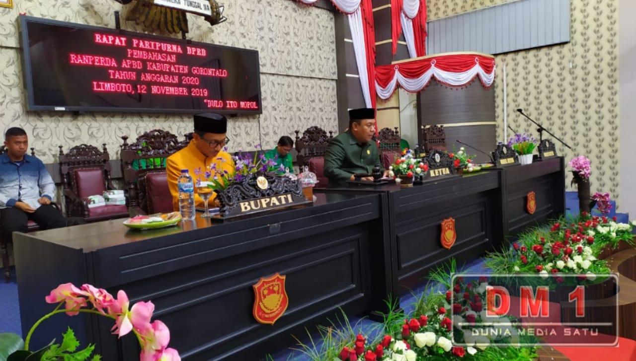 Pilkada Kuras APBD 2020, DPRD Kabupaten Gorontalo Maksimalkan Pekerjaan Kerakyatan