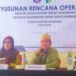 Dinkes Prov. Gorontalo Mantapkan Germas Melalui Penyusunan Rencana Operasional Lintas Sektor