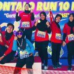 "Gorontalo Germas Community Ikuti ""Gorontalo Run 10K"", Nancy Pembengo: Berolahraga Cegah PTM"