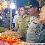 Jelang Nataru, Kapolda dan Wagub Gorontalo Gelar Sidak Pangan