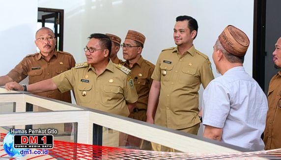 Dinas PUPR Kota Gorontalo Punya Kantor Baru, Ini Pesan Walikota Marten Taha