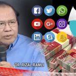 """Influencer Dapat Rp.72 M untuk """"Redam"""" Dampak Corona, Rizal Ramli: Ngawur Amat!"""