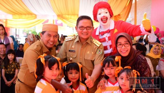 McDonald's Resmi Beroperasi, Wali Kota: Gorontalo Jadi Perbincangan Investor