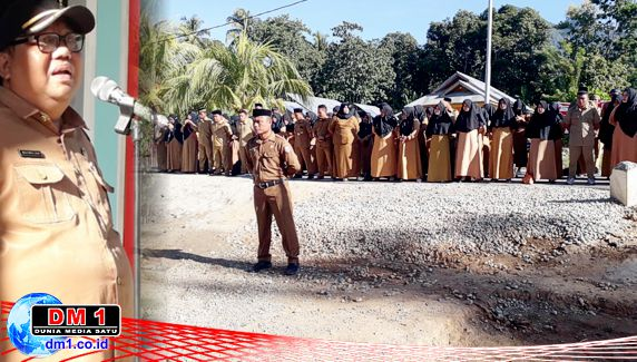 Apel dan Rakor Suwawa Timur Dipusatkan di Desa Poduwoma, Ini Harapan Kades Yusuf Puneli