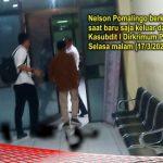 Keluar dari Ruang Penyidik dan Intel, Nelson Pomalingo Bantah Hadiri Pemeriksaan