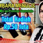 Rahmijati Jahja Gelar Sayembara Menulis Tingkat SMU se-Provinsi Gorontalo, Total Hadiah Rp.50 Juta