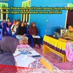 Sukseskan Sensus Penduduk, Kades Yusuf Puneli Layani Warga dari Dusun ke Dusun