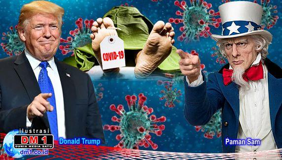 Kini Amerika Posisi Teratas Jumlah Penderita Covid-19, Kalahkan China