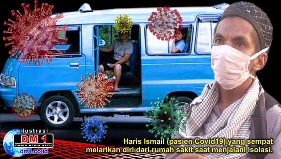Kabur dari RSAS, Pasien Covid19 Gorontalo ini Naiki Angkutan Umum ke Kediamannya