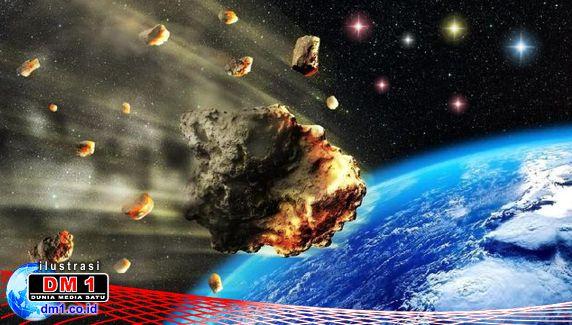 Rabu Siang 15 April 2020, Dua Asteroid Dekati Bumi