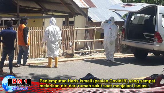 Kabar Pasien Covid19 Gorontalo yang Melarikan Diri dari RSAS, bukan Hoax!