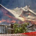 Kebakaran, Satu Unit Rumah di Biluango Rata dengan Tanah
