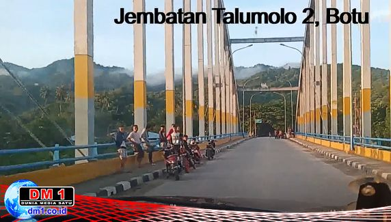 Puasa Kedua, Jembatan Talumolo 2 Masih Ditemui Kerumunan Anak Muda