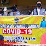LSM dan Ormas se-Kota Gorontalo On the Road Covid19, Marten Taha: Saya Bangga