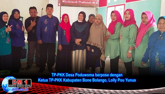 Desa Poduwoma Wakili Suwawa Timur Lomba PKK se-Kabupaten Bone Bolango