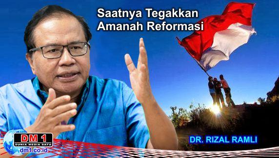 Kejahatan Kerah Putih Makin Leluasa, Rizal Ramli: Itu Oligarki, Saatnya Menegakkan Reformasi!