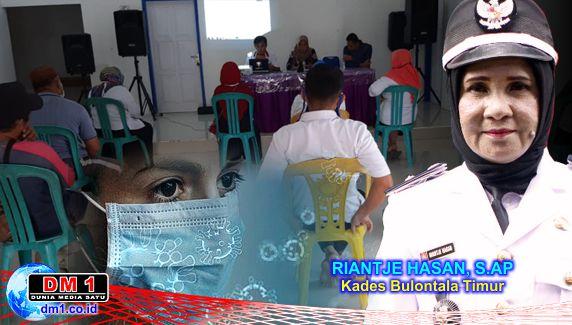 Bentuk Relawan Covid19, Kades Riantje: Biar Kami yang Tangani, Kalian di Rumah Saja