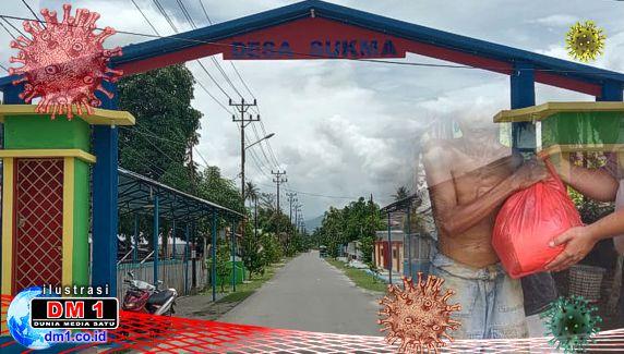"""4 Oknum Aparat Desa Sukma Terima Bantuan Sembako, Siswa SMP """"Dipaksa"""" Tandatangan"""